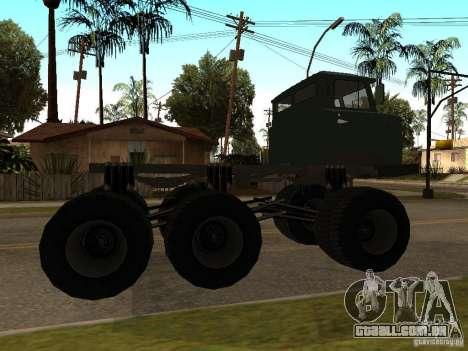 GAZ 66 Saiga para GTA San Andreas traseira esquerda vista