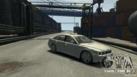BMW 760I para GTA 4 vista direita