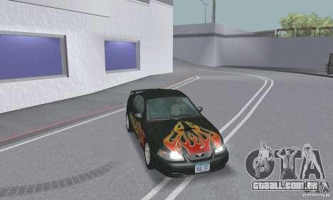 Ford Mustang GT 2003 para GTA San Andreas interior