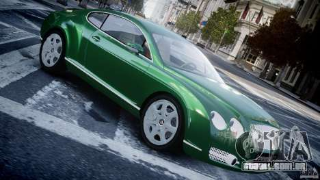 Bentley Continental GT para GTA 4 esquerda vista