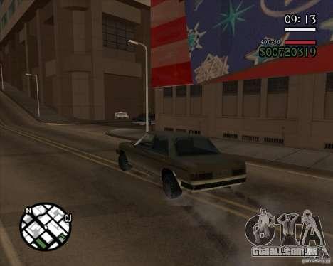 Nova gestão pragmática para GTA San Andreas terceira tela