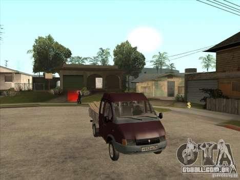 GÁS 33023 para GTA San Andreas vista traseira