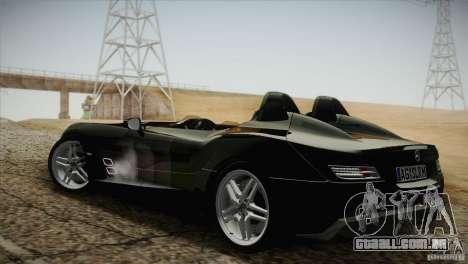 Mercedes-Benz SLR Stirling Moss 2005 para GTA San Andreas vista traseira