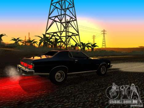 Ford Gran Torino 1975 para GTA San Andreas vista direita