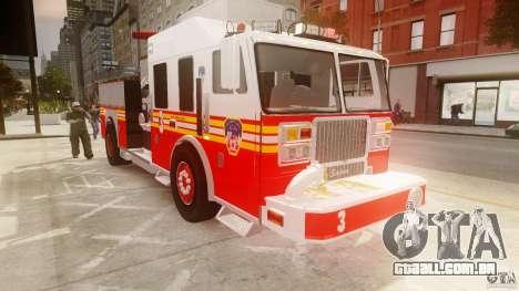 FDNY Seagrave Marauder II para GTA 4