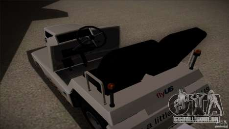 Air Tug from GTA IV para GTA San Andreas vista direita