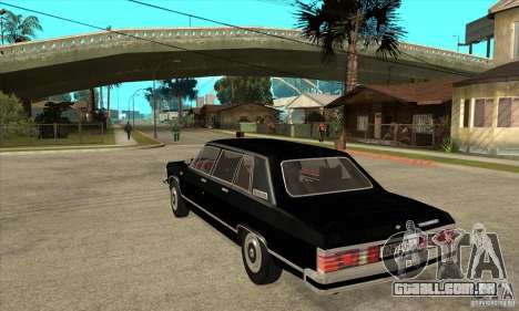 GAZ 14 Chaika para GTA San Andreas traseira esquerda vista