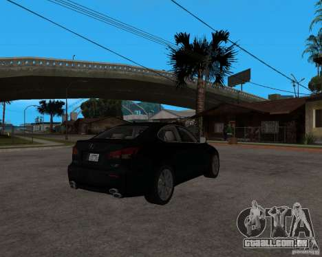 Lexus IS-F v2.0 para GTA San Andreas