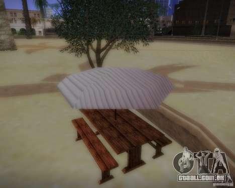 Novos padrões de lazer para GTA San Andreas segunda tela