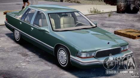Buick Roadmaster Sedan 1996 v1.0 para GTA 4 vista inferior