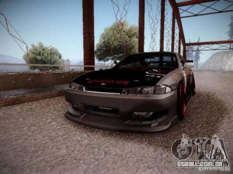 Nissan Silvia S14 Hell para GTA San Andreas vista direita