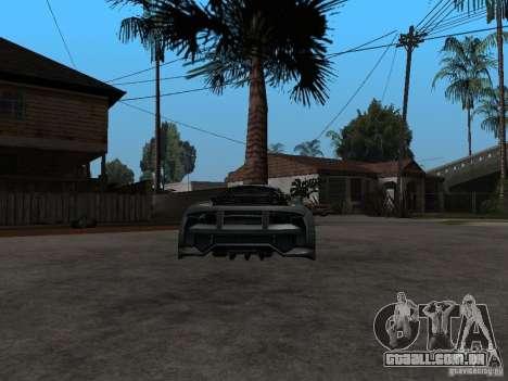 CyborX CD 10.0 XL GT v2.0 para GTA San Andreas traseira esquerda vista