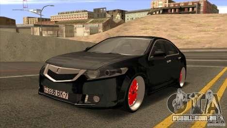 Acura TSX Doxy para GTA San Andreas