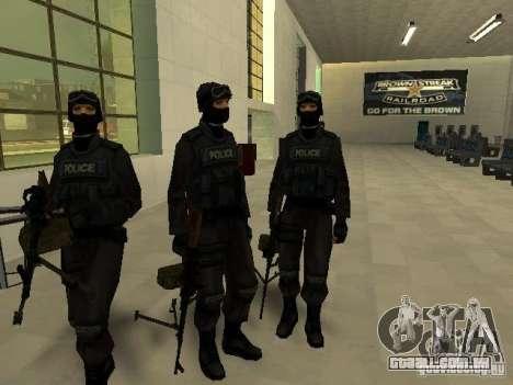 Ajuda Swat para GTA San Andreas