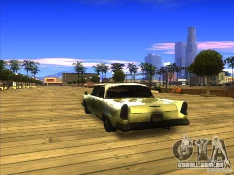 Glendale - Oceanic para GTA San Andreas traseira esquerda vista