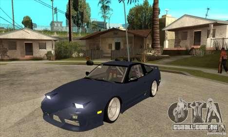 Nissan 180SX Turbo JDM para GTA San Andreas