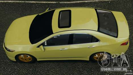 Honda Accord Type S 2008 para GTA 4 vista direita