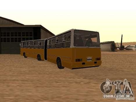 Reboque Ikarusu 280.46 para GTA San Andreas