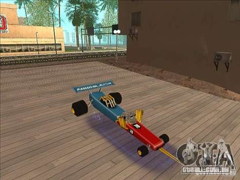 Dragg car para GTA San Andreas