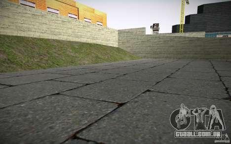 Departamento de fogo HD para GTA San Andreas sétima tela