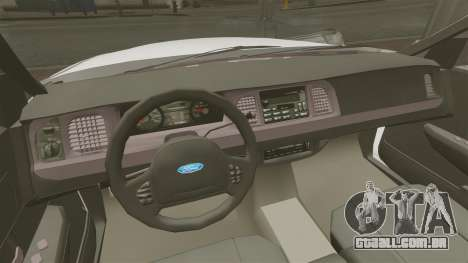 Ford Crown Victoria Unmarked ELS para GTA 4