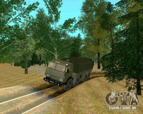 KAMAZ-6350 para GTA San Andreas