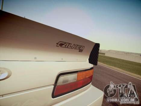 Nissan Silvia S13 Daijiro Yoshihara para GTA San Andreas vista traseira