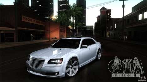 Chrysler 300C V8 Hemi Sedan 2011 para GTA San Andreas interior