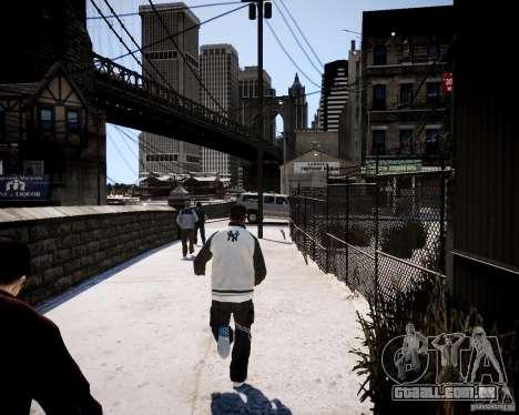 Niko - Cj para GTA 4 quinto tela