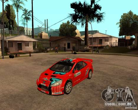 Peugeot 307 WRC para GTA San Andreas