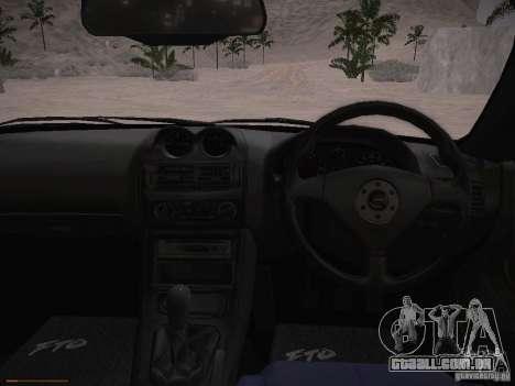 Mitsubishi FTO GP Veilside para GTA San Andreas vista interior