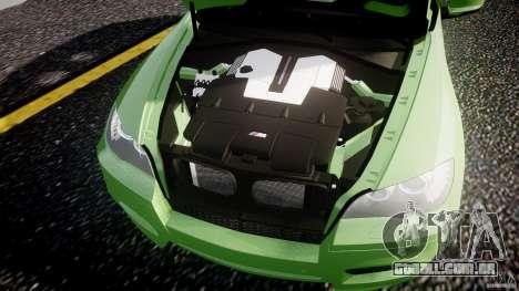 BMW X5 M-Power para GTA 4 vista superior