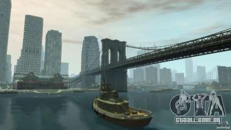New Tug Texture v.1 para GTA 4 traseira esquerda vista