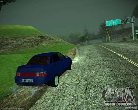 VAZ-21103 para GTA San Andreas traseira esquerda vista