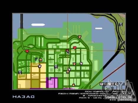 Villa em San Fierro para GTA San Andreas décima primeira imagem de tela