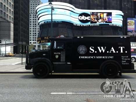 SWAT - NYPD Enforcer V1.1 para GTA 4 esquerda vista