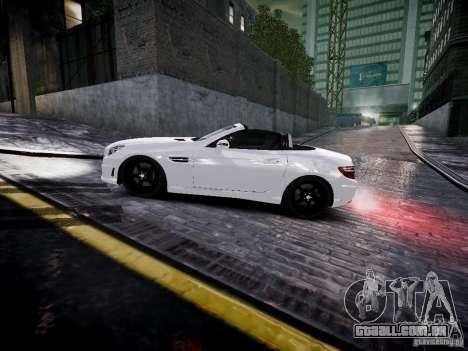 Mercedes SLK 2012 para GTA 4 esquerda vista