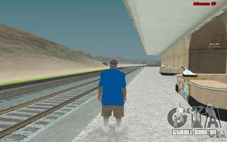 Novas skins para gangue Varios Los Aztecas para GTA San Andreas sexta tela