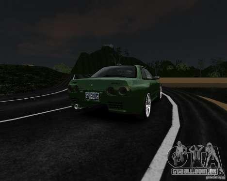 Nissan Skyline R32 GTS-t Veilside para GTA 4 vista de volta