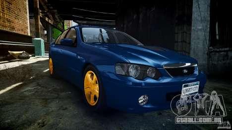 Ford Falcon XR8 2007 Rim 2 para GTA 4