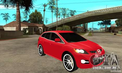 Mazda CX-7 para GTA San Andreas vista interior