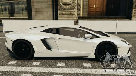 Lamborghini Aventador LP700-4 2012 para GTA 4 esquerda vista
