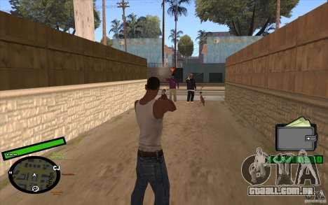 Novo HUD para GTA San Andreas segunda tela