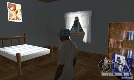Novos esconderijos interiores para GTA San Andreas sétima tela