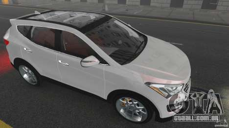 Hyundai Santa Fe Sport 2013 para GTA 4 vista inferior