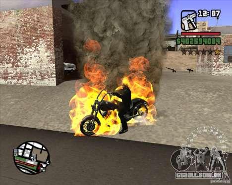 Ghost Rider para GTA San Andreas