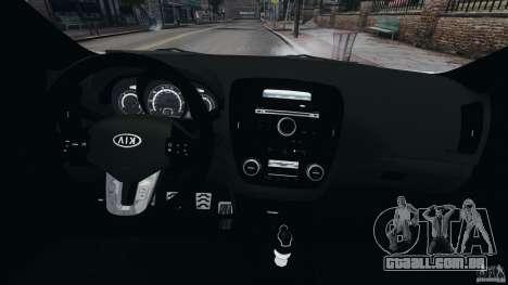 Kia Ceed 2011 para GTA 4 vista de volta