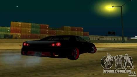 New elegy v1.0 para GTA San Andreas esquerda vista