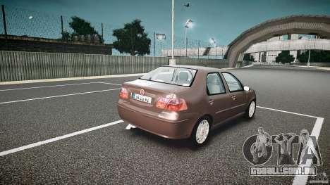 Fiat Albea Sole (Bug Fix) para GTA 4 vista interior