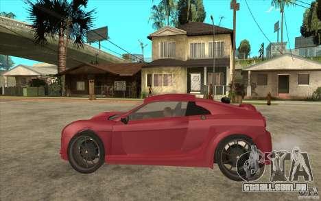 Mastretta MXT para GTA San Andreas esquerda vista